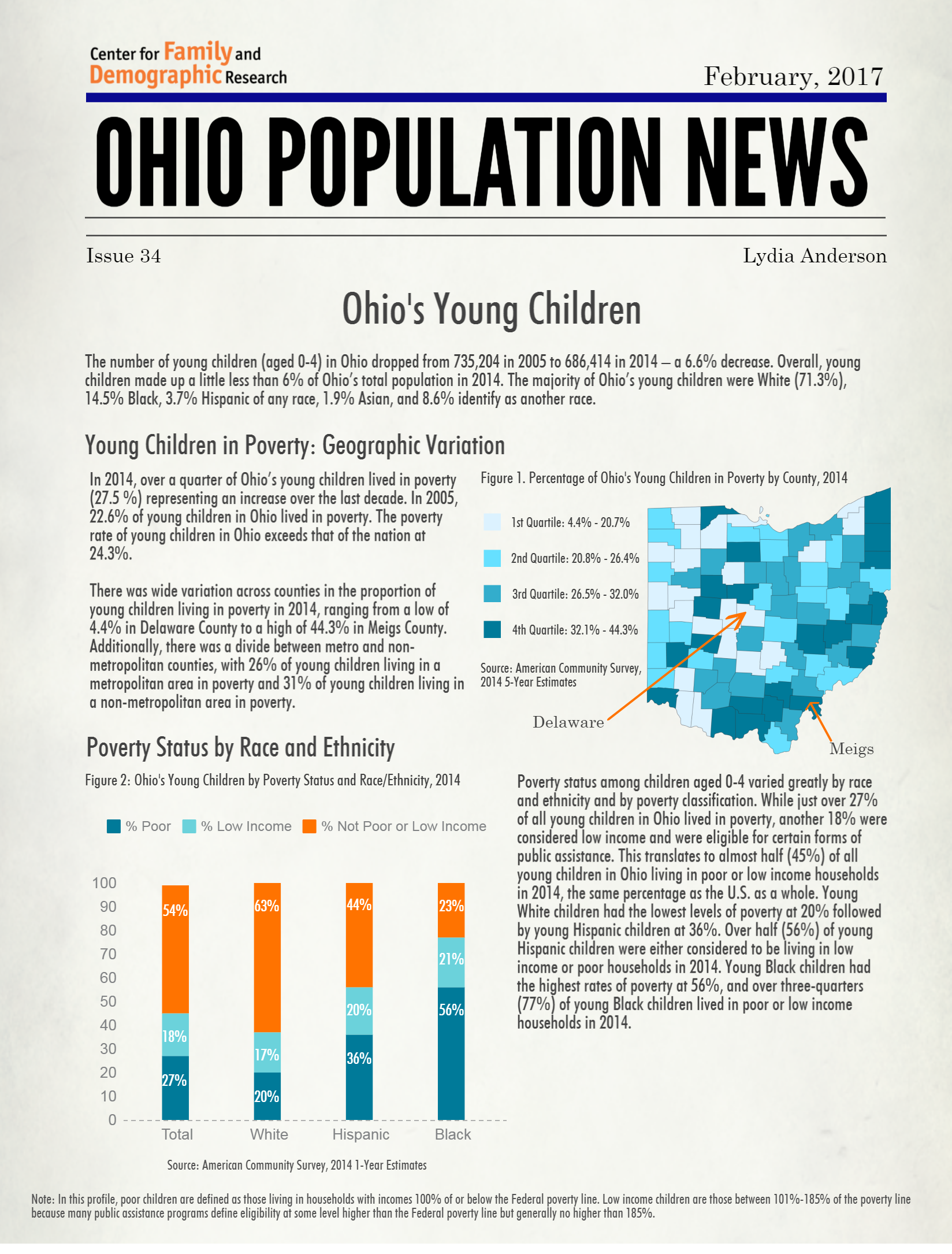 Ohio Population News 2017 Ohios Young Children cropped