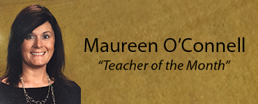 """Teacher of the Month"" Pursues Graduate Studies in History"