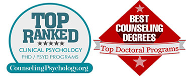 CLINICAL PSYCHOLOGY PH.D. PROGRAM NATIONALLY RANKED