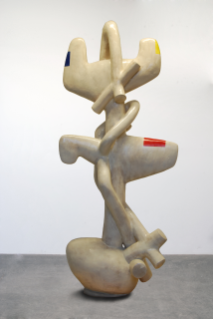 """""""North Wind,"""" 119""""x52""""x30"""", Stoneware with slip and Glaze, Coil Built, 2014"""