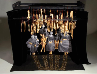 Diorama for Hands of Gold, 2008