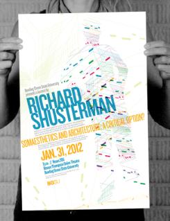 Shusterman Poster, 2012
