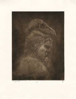 Jessica Short, etching