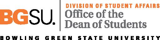 BGSU Dean of Students Logo