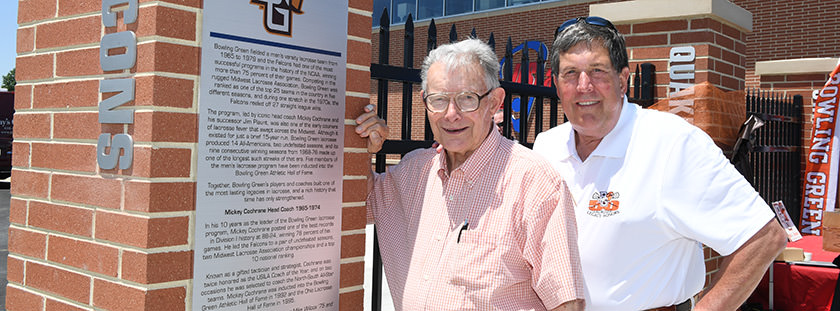 Legacy of BGSU lacrosse celebrated