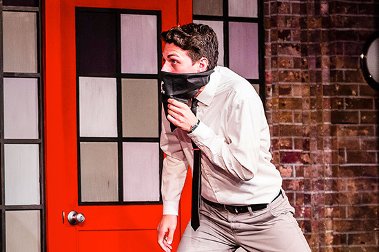 Baxter Chambers Studies Comedy at the Second City