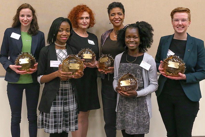 Six recipients honored with the Woman of Distinction Award