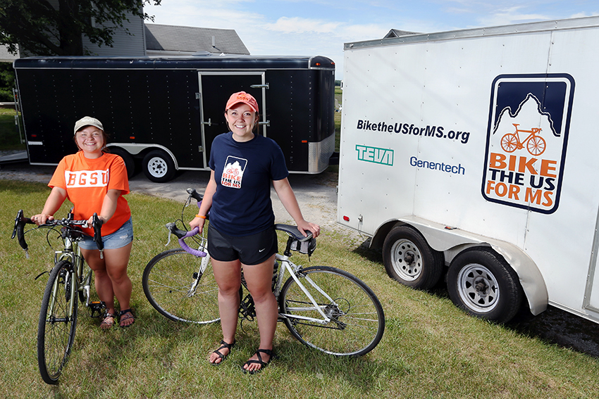 Biking the U.S. for MS