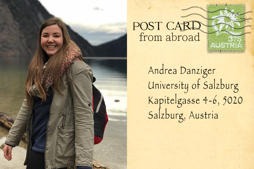 Postcard from Germany: Student Andrea Danziger studies abroad