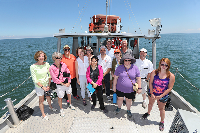 Lake Erie teaches important lessons to BGSU faculty