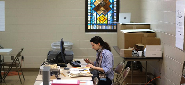 Center for Archival Collection provides Community Scan Day