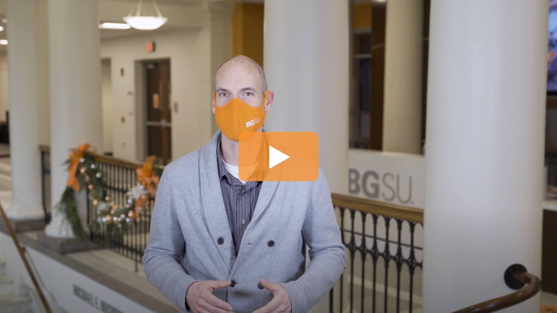 Watch BGSU Chief Health Officer Ben Batey's December 16 Video Update