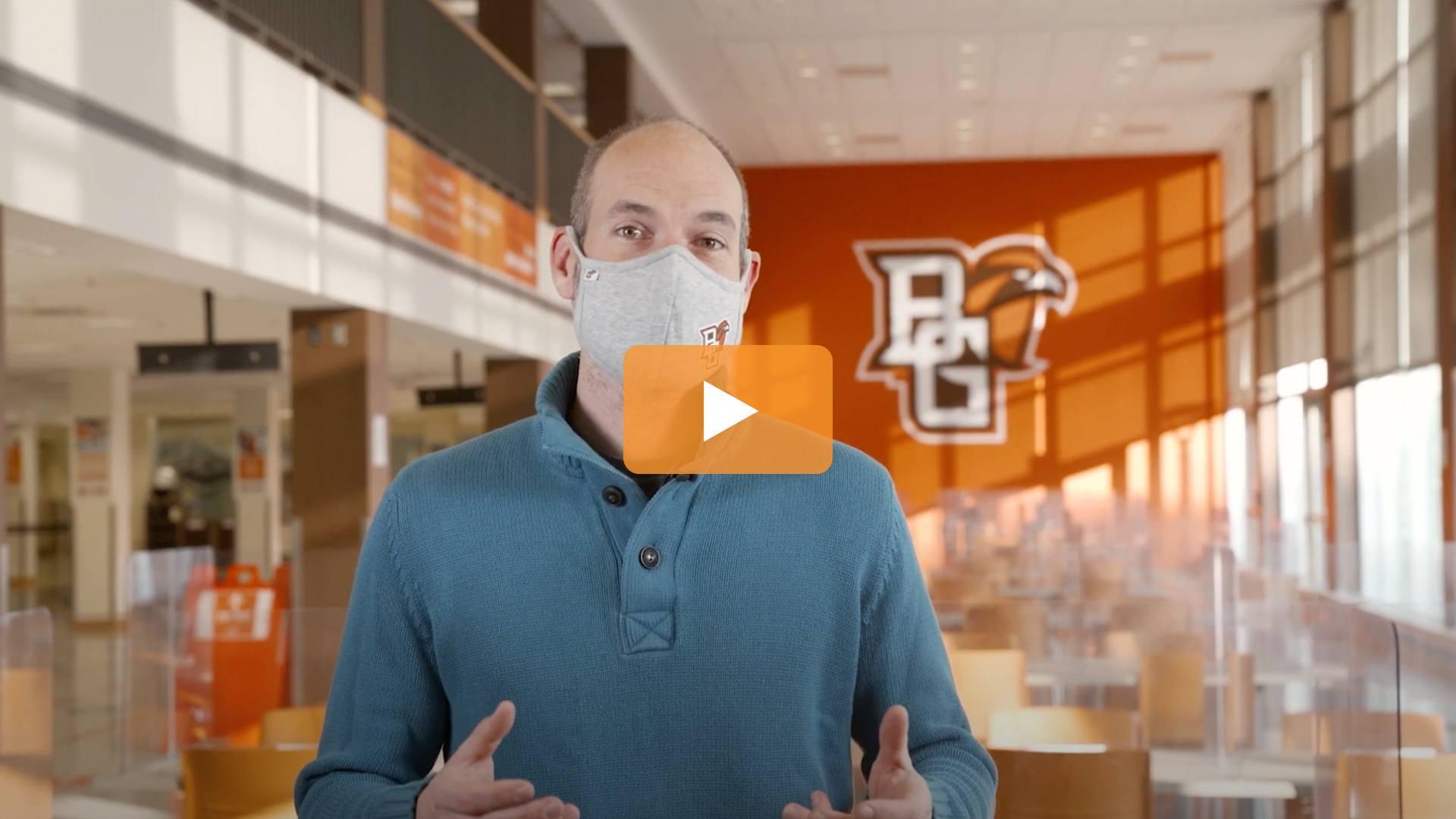 Watch BGSU Chief Health Officer Ben Batey's November 24 Video Update