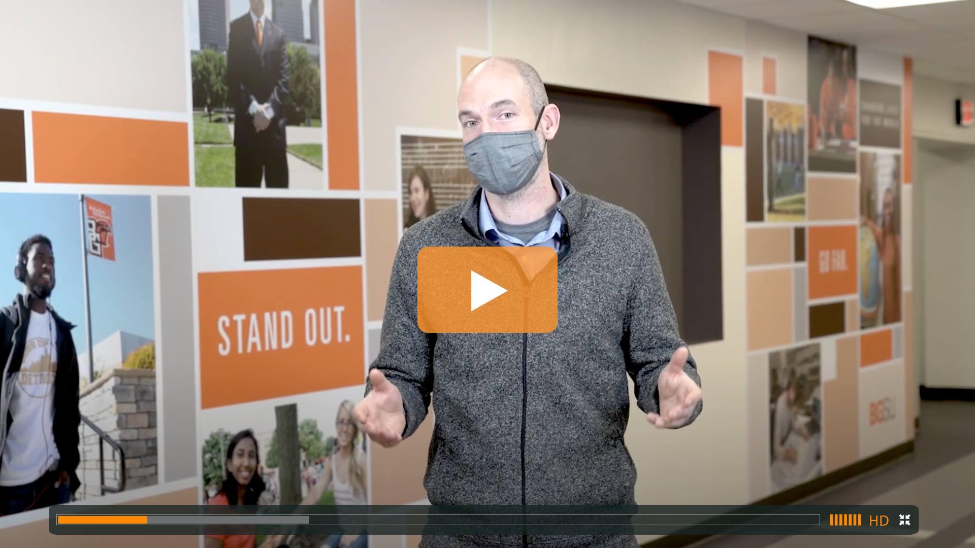 Watch BGSU Chief Health Officer Ben Batey's January 12 Video Update