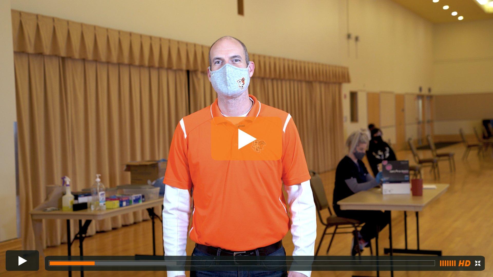 Watch BGSU Chief Health Officer Ben Batey's January 19 Video Update
