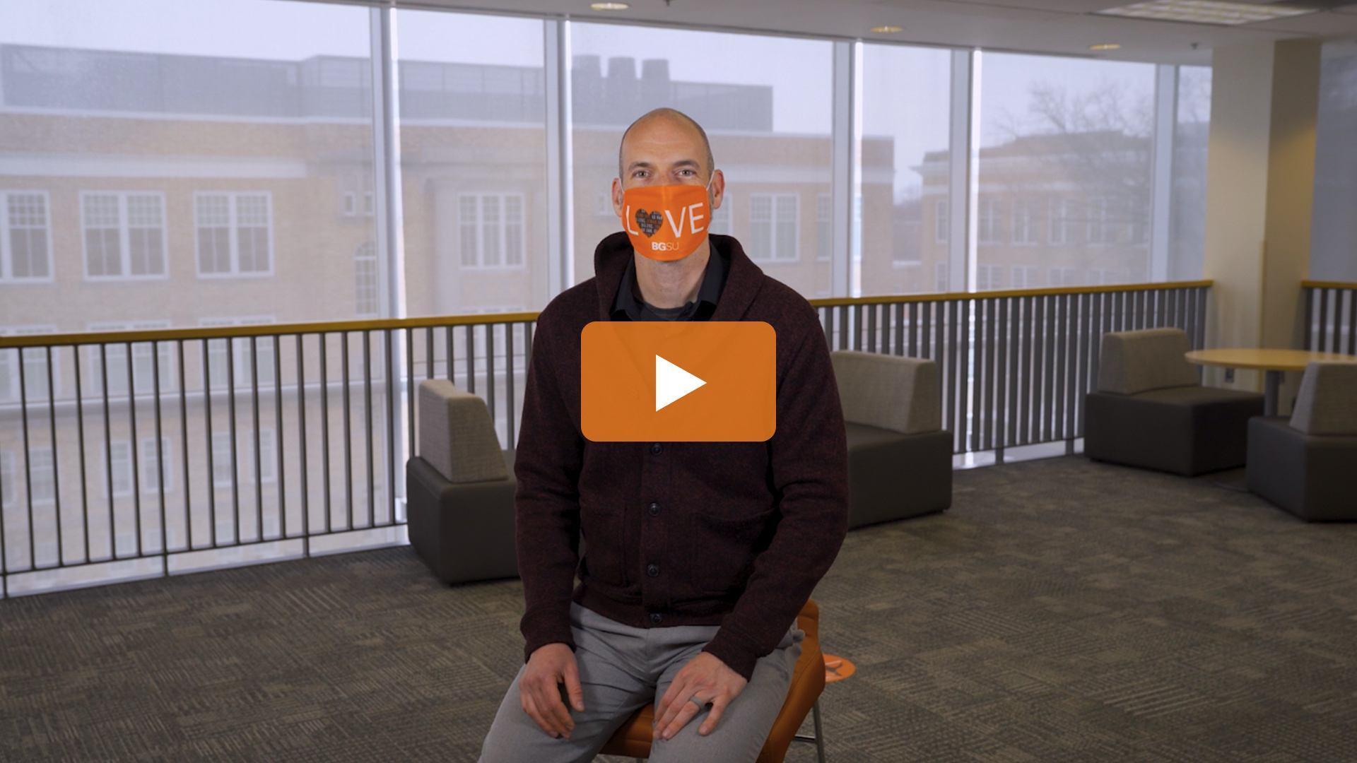 Watch BGSU Chief Health Officer Ben Batey's February 23 Video Update