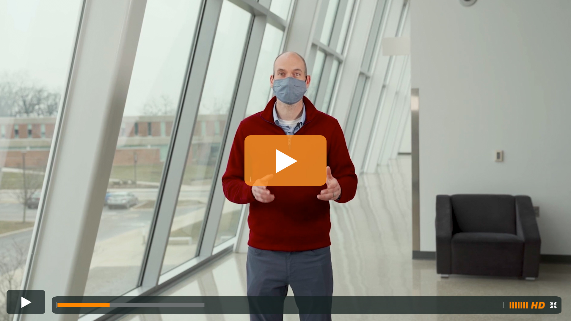 Watch BGSU Chief Health Officer Ben Batey's January 26 Video Update