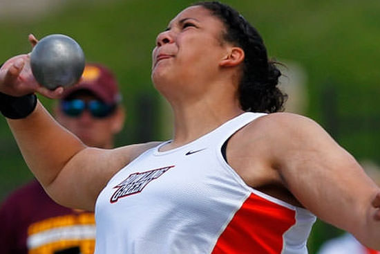 Aliyah Gustafson overcomes injury to qualify for NCAA Track & Field Championship
