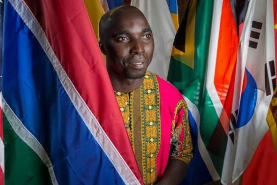 International destination; Student from Gambia relishes individual instruction at BGSU