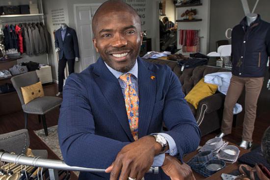 Style points: BGSU alumnus Valentine Ononye's stores offer world-class service