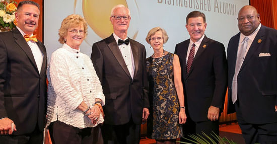 Academy of Distinguished Alumni welcomes Hatton, McGuire, Mullins and Prout