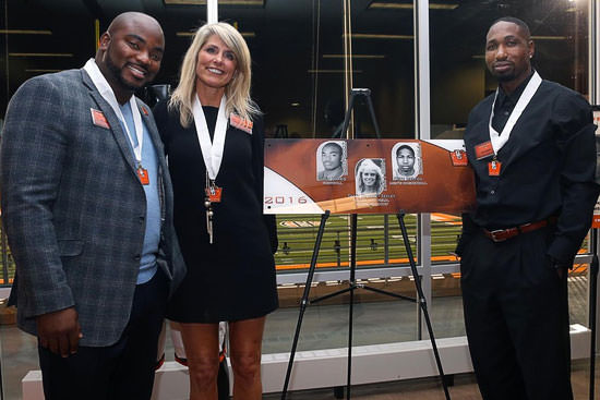 Three Inducted Into Athletics Hall Of Fame