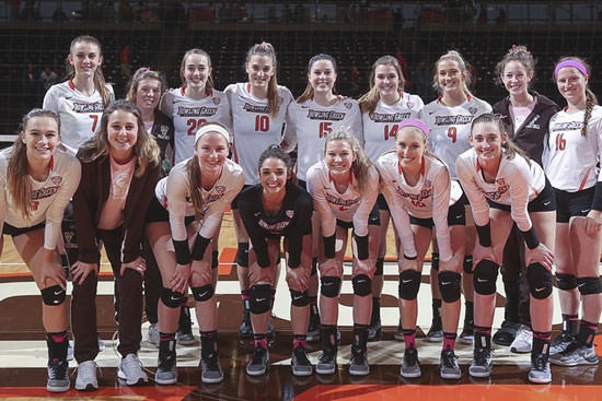 Falcon Volleyball claims Battle of I-75 with 3-1 Win Over Toledo