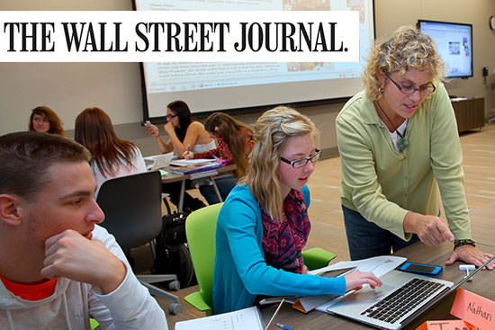 The Wall Street Journal and Times Higher Education rank BGSU No. 1 for student engagement