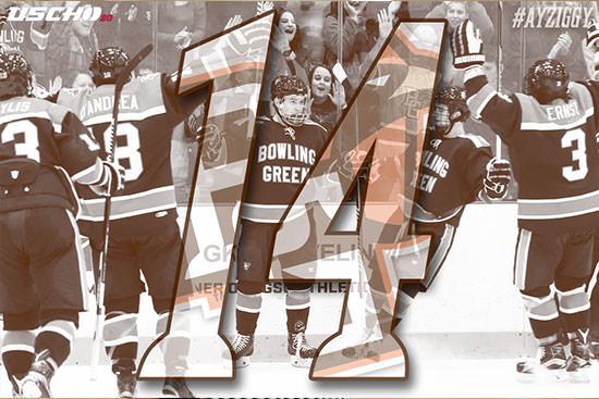 Hockey ranked No. 14 in USCHO preseason poll