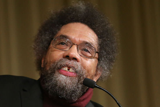 Cornel West promotes Martin Luther King's philosophy