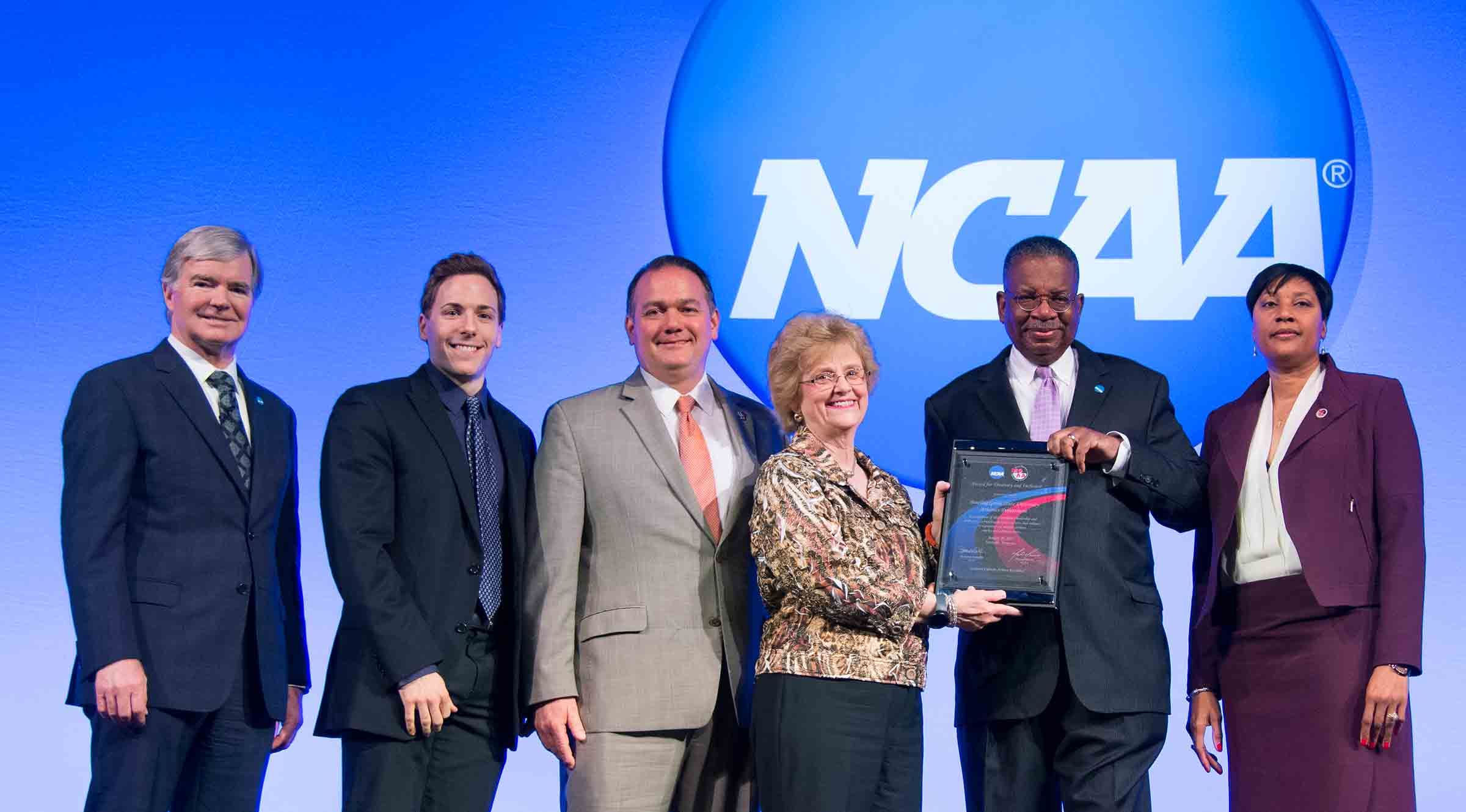 2017 Award for Diversity and Inclusion presented by the NCAA in partnership with the Minority Opportunities Athletic Association