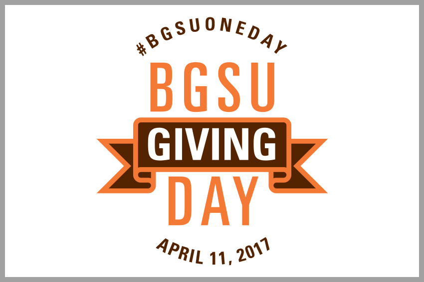 Become involved with BGSU One Day
