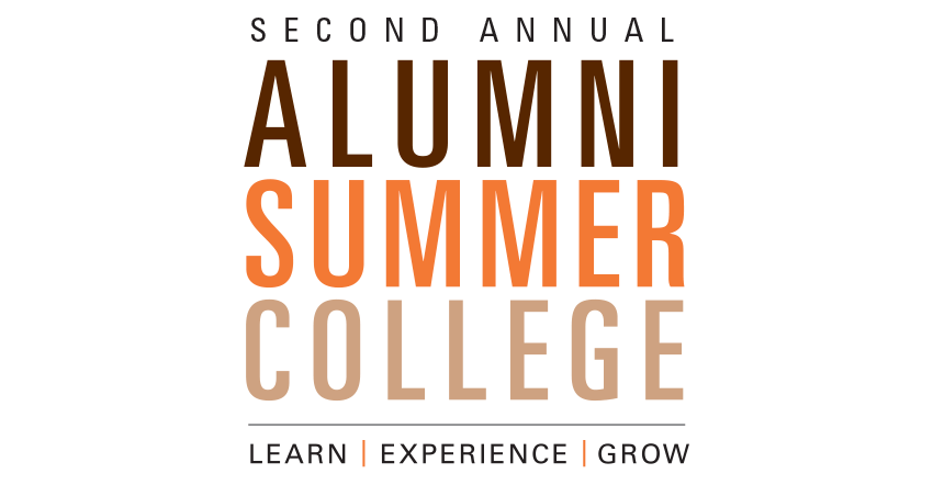 Register today for Alumni Summer College
