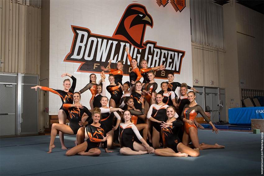 BGSU gymnastics ranked 14th nationally in academics