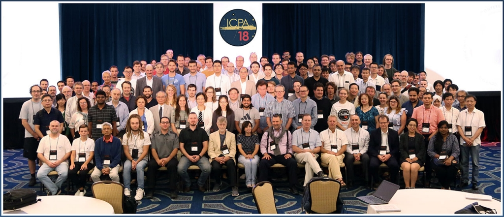 International Conference On Positron Annihilation ICPA-18 group picture