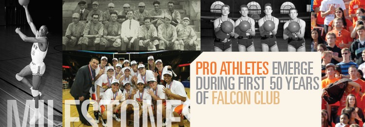 Pro athletes emerge during first 50 years of Falcon Club