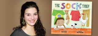 'The Sock Thief' captures children's hearts