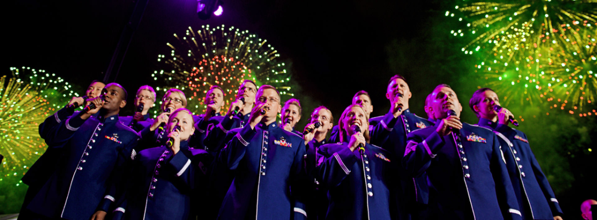 USAF Band and Singing Sergeants