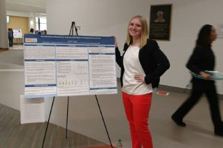 Clune pursues path to CDIS research career through Honors Project