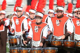 BGSU's new band uniforms are hip, timeless