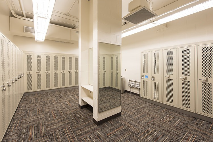SRC Private Locker Room
