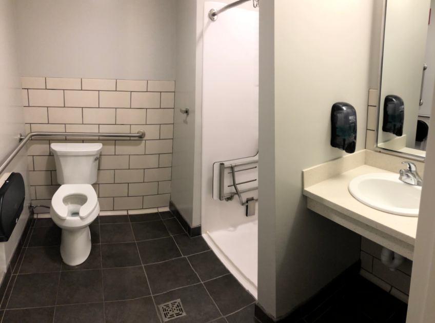 Community Single Bathroom