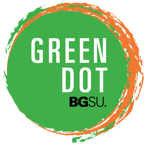 Green-Dot-Sticker-Orange-Logo-Design