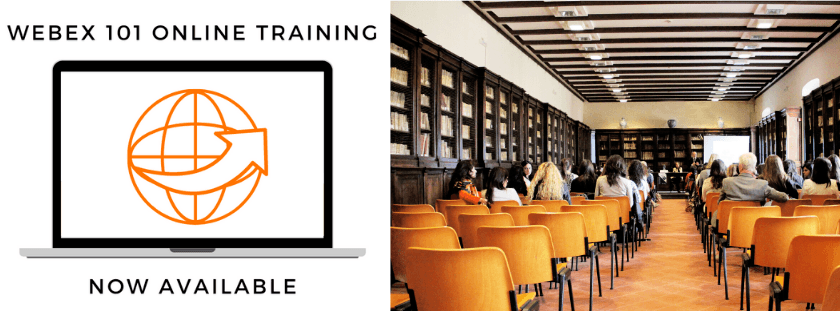 Enroll in Webex 101 Training
