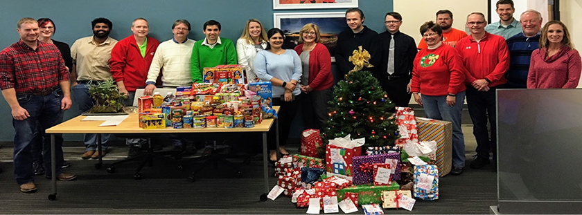 ITS Application Team Supports Habitat, Salvation Army & More