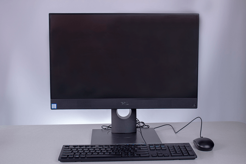 Dell All In One Desktop with wired keyboard and mouse
