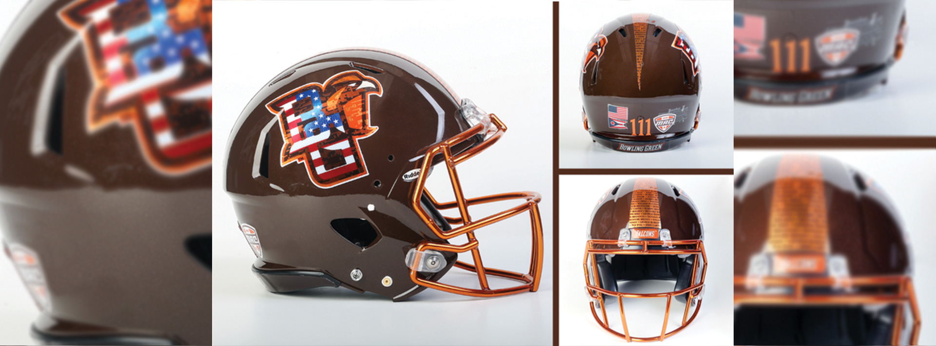 BGSU To Wear Commemorative Helmets For Military Appreciation Day