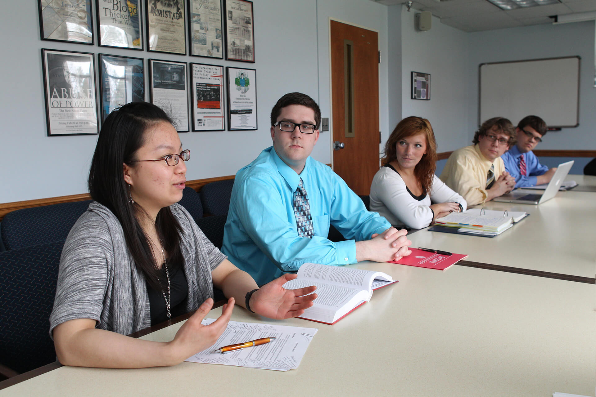 Public Administration Students Learning
