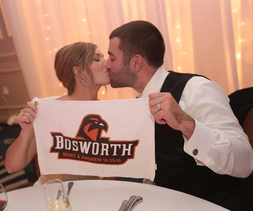 Andrew '11 & Mary (DeMoss) '11 Bosworth