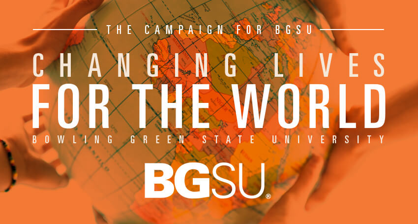 The Campaign for BGSU: Changing Lives for the World Website
